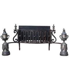 19th Century French Fire Grate
