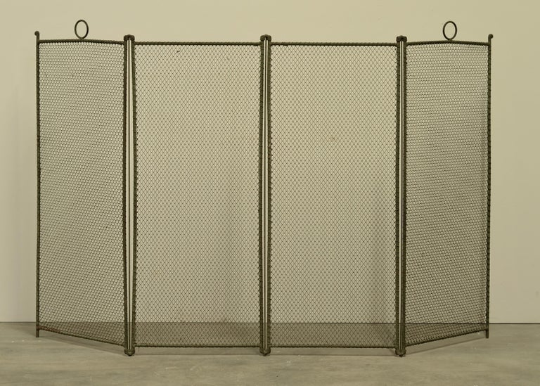 19th Century French Fireplace Screen/Firescreen In Good Condition For Sale In Haarlem, Noord-Holland
