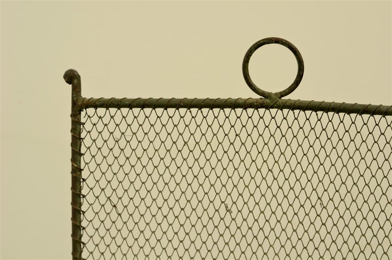 19th Century French Fireplace Screen/Firescreen For Sale 4