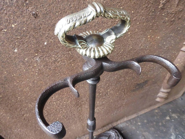 19th Century French Fireplace Tools or Fire Tools For Sale 4