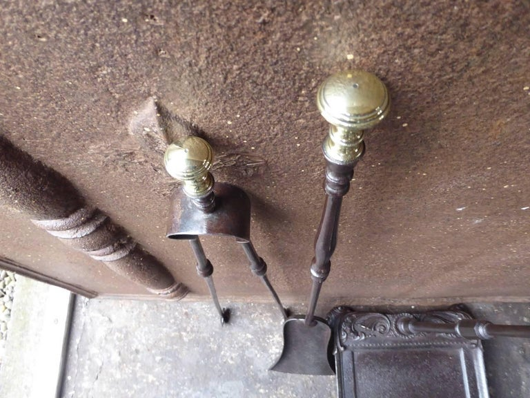 19th Century French Fireplace Tools or Fire Tools For Sale 2