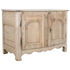 19th Century French Flip Top Storage Buffet