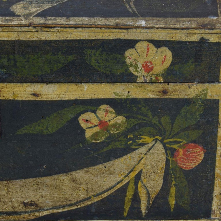19th Century French Folk Art Wedding Box from Normandy 5