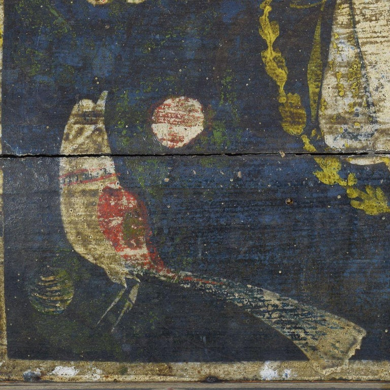 19th Century French Folk Art Wedding Box from Normandy 6