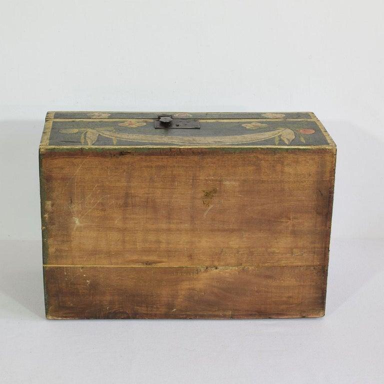 19th Century French Folk Art Wedding Box from Normandy 11