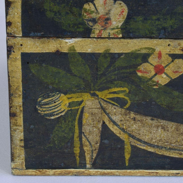 19th Century French Folk Art Wedding Box from Normandy 3