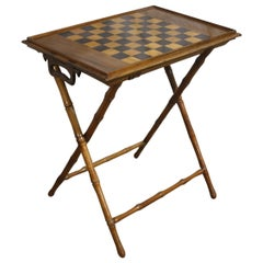 19th Century French Game Table or Tray Table