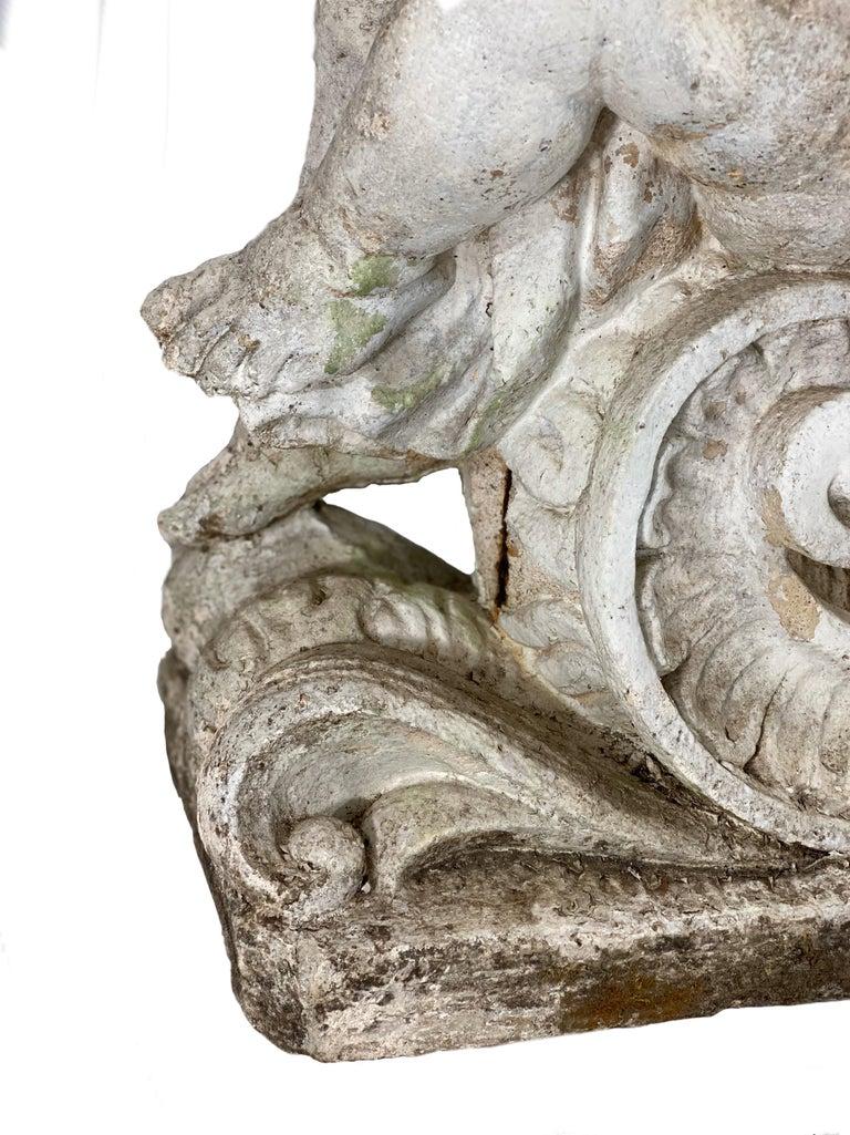 Cement 19th Century French Garden Statue