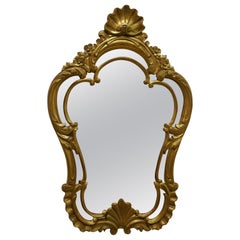 19th Century French Gilt Console Mirror