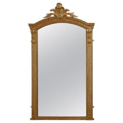 19th Century French Gilt Mirror