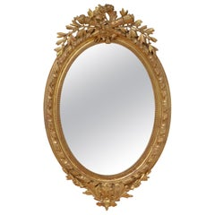 19th Century French Gilt Wall Mirror