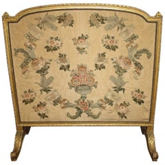 19th Century French Giltwood Screen