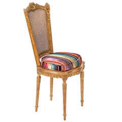 19th Century French Giltwood Side Chair