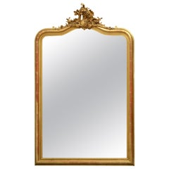 19th Century French Giltwood Wall Mirror