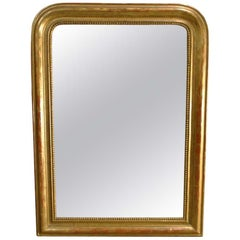 19th Century French Gold Leaf Gilt Louis Philippe Mirror