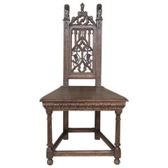 19th Century French Gothic Chair