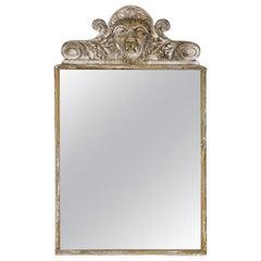 19th Century French Gothic Mirror