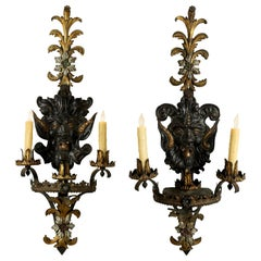 19th Century French Gothic Style Sconces