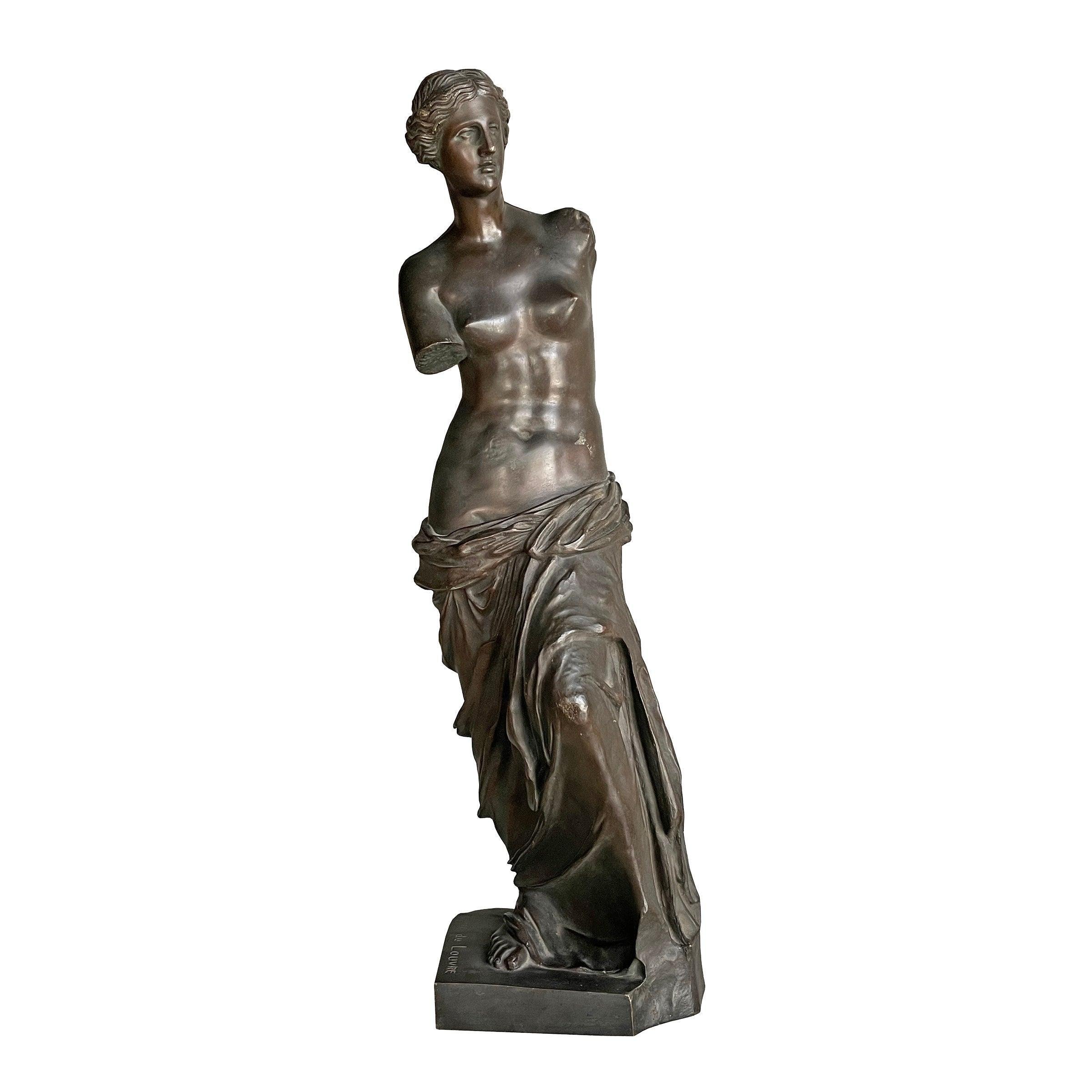 19th Century French Grand Tour Venus de Milo Bronze