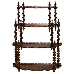 19th Century French Hanging Shelf