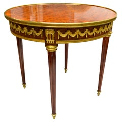 19th Century French Inlaid Centre Table
