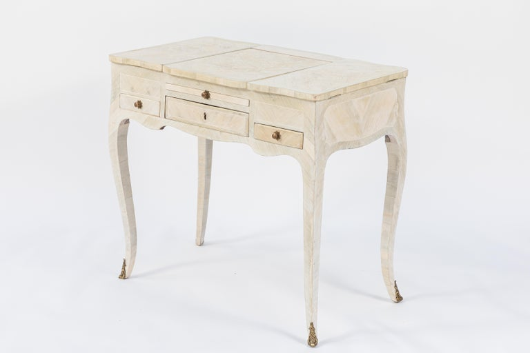 19th Century French Inlaid Vanity For Sale 7