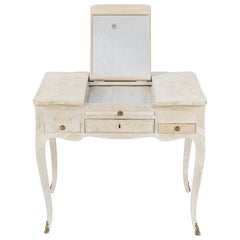 19th Century French Inlaid Vanity