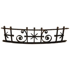 19th Century French Iron Architectural Fragment