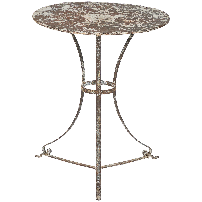 19th Century French Iron Garden Table