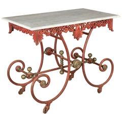 Metal Dessert Tables and Tilt-top Tables