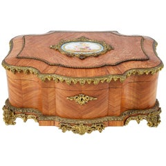 19th Century French Jewelry Box