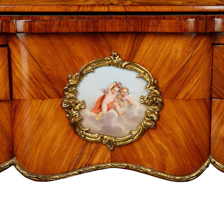 Mahogany 19th Century French Ladies Writing Desk For Sale