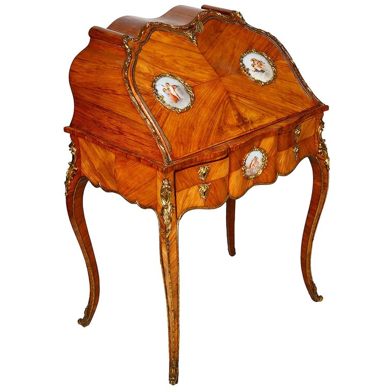 19th Century French Ladies Writing Desk For Sale