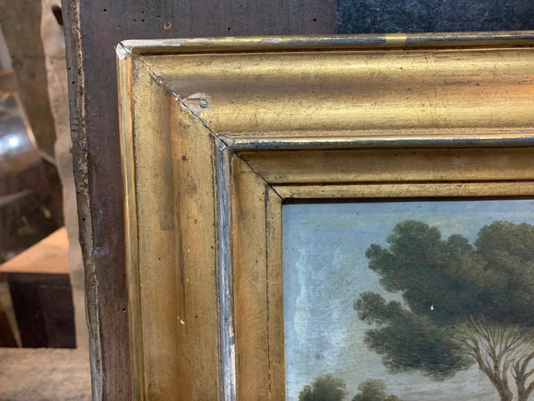 19th Century French Landscape Painting In Good Condition In Atlanta, GA