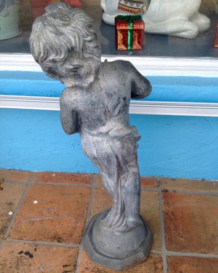 19th Century French Lead Fountain For Sale 2