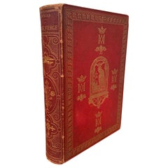 19th Century French Leather Bound and Gilt Book of The Virgin Mary