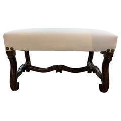 19th Century French Louis 13th Style Stool