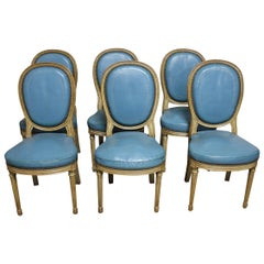 19th Century French Louis 16 Dining Chairs