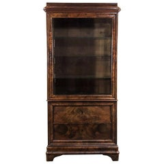 19th Century French Louis Philippe Bookcase, Vitrine, circa 1840