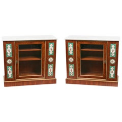 19th Century French Louis Philippe Display Cabinets