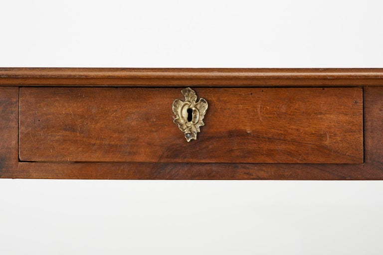 19th Century French Louis Philippe Fruitwood Writing Table Desk 8