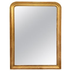 19th Century French Louis Philippe Gold Mirror