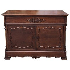 19th Century French Louis Philippe Mahogany Secretary