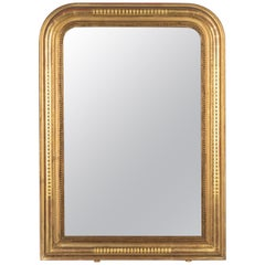 19th Century French Louis Philippe Style Gilded Mirror
