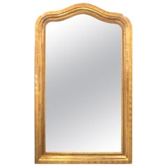 19th Century French Louis Phillipe Gold Gilt Mirror