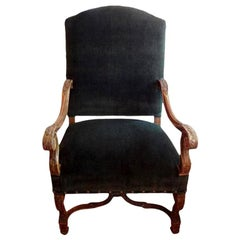 19th Century French Louis XIV Style Chair