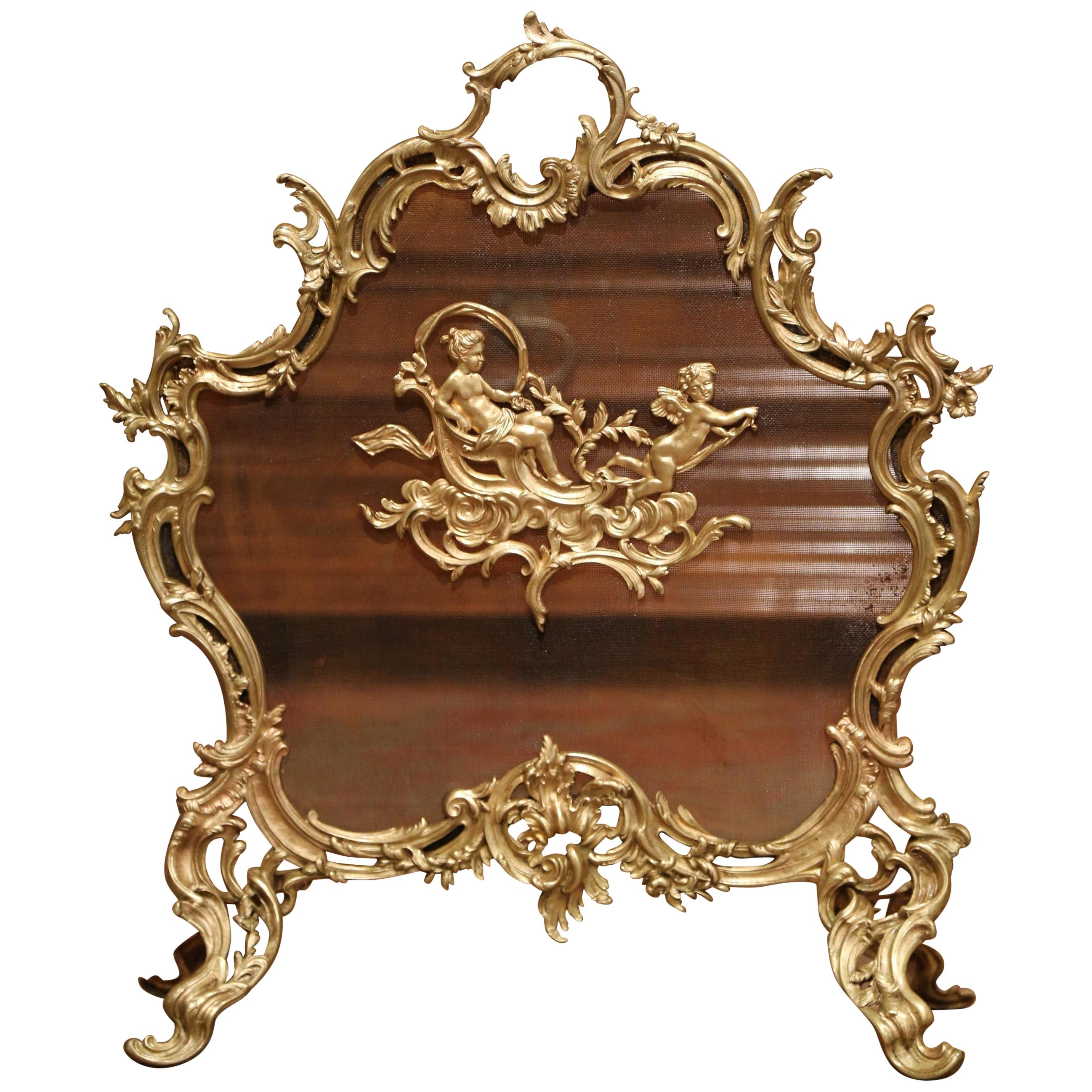 Antique Fireplace Screen >> Antique And Vintage Fireplace Screens 318 For Sale On 1stdibs
