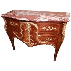 19th Century French Louis XV Commode by G. Durand