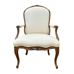 19th Century French Louis XV Style Armchair from the Baker Furniture Archive