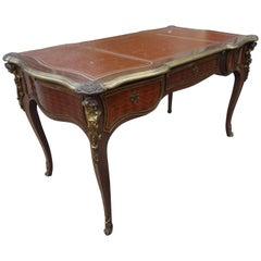 "19th Century French Louis XV Style Bureau Plat ""Desk"""